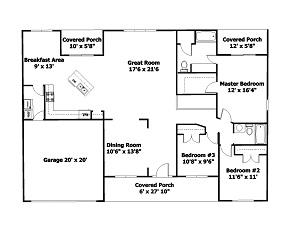The covington bethel builders for Covington floor plan