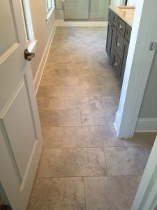 Ceramic Tile Floors Level 1 Bethel Builders